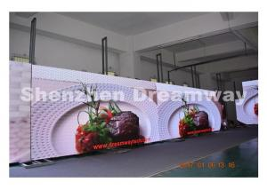 China Ultra Thin 2.5 mm High Resolution led screen indoor with HDMI VGA DVI Signal Input on sale