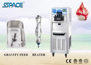 China Fast Refrigeration Commercial Soft Ice Cream Machine With 3 Flavor 220V on sale