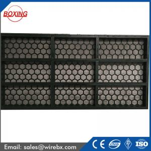 China High perfoemence China professional manufacture Steel frame screen for oilfield drilling mud on sale