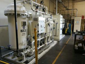 China Food Grade PSA Nitrogen Generator With Screw Air Compressor High Pressure on sale