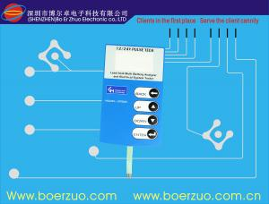 China Flexible PCBA Circuit LED Custom Membrane Switch for Electromagnetic Oven on sale