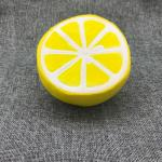 PU Fruit Shape Slow Rising Toy Fruit Jumbo Squishies Toy Scented Kit Fruit Apple Banana Lemon Orange Peach Jumbo