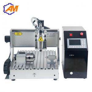 China AMAN mini cnc drilling aluminum machine CNC wood craft engraving machine 3040 4axis for small business on sale