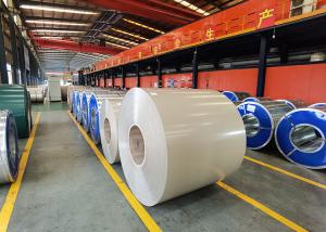 China Aluzinc Steel Prime Hot Dipped Galvanized Steel Coils RAL color on sale