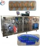 plastic vial spice sauce packing machine,automatic pve pe plastic ampoule form fill seal cut machine for pharma equipmen