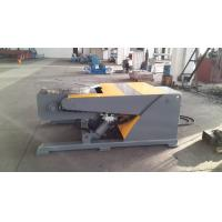 3 Axis Hydraulic Lifting Welding Positioner Lifting Tilting by Hydraulic Cylinder Table Revolving VFD Change Speed