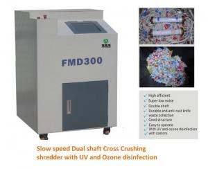 China Medical waste shredder on sale