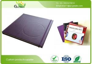 China 70gram / 80gsm / 100gsm Hardcover Sketch Book , SGS Recycled Hard Bound Sketch Book on sale