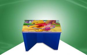 China Printed Recycable Cardboard Chair Carboard Table for Disney , SGS Certification on sale