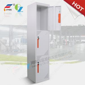 China Three door steel locker FYD-G003,H1850XW380XD450mm,Knocked down structure,white color on sale