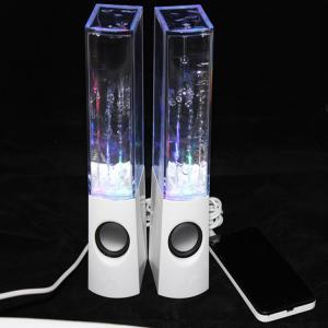 China Original & Top quality Atake a Pair LED Musical fountain speaker, Water Dancing Speaker,USB Water  Mini Speakers on sale