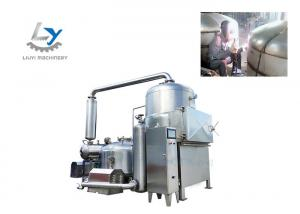 China Industrial Potato Chips Vacuum Fried Chips Machine Working Capacity 80-100kg on sale