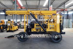 China Trailor Mounted Water Well Drilling Rig on sale