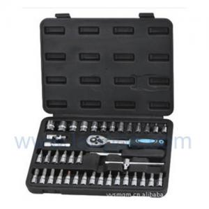 "Quality TSB40-1/4""+1/2"" Dr. Cr-V 40pcs Hand Socket Set.,Hand Tool Kit for sale"