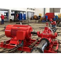 China NM Fire UL / FM  500 GPM Electric End Suction Fire Pump with Eaton Control Panel on sale