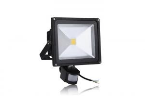 China Outdoor White  IP65 30w Pir Led Floodlight With Motion Detector Community Lighting on sale