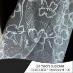 Elegant style curtain fabric samples 2018