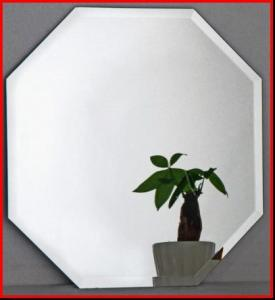 Wall Mirror Glass Beveled Mirror Bathroom Mirror Octagon Mirrors