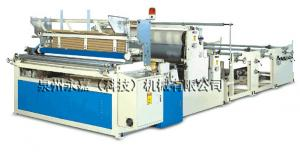 China Rewinding and perforating toilet paper machine on sale