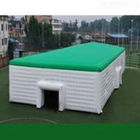 2014 new design clear inflatable lawn tent