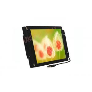 China Touch Screen LCD Monitor High Definition Industrial VGA/DVI 12V Screen Options on sale