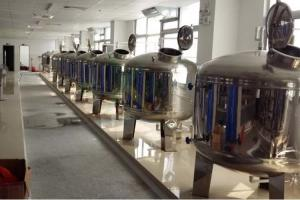 China Mirror Polish Water Treatment Accessories SS304 SS316 Stainless Steel Filter Tank  /  Pre Treatment Tank on sale