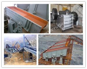 China Rock crushing equipment in rock crushing plants on sale