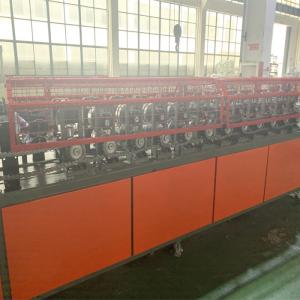 China Metal C Shape Furred Ceil Studs Track / Drywall Steel Material Light Keel Roll Forming Machine on sale