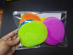 China Multi - Color Hook And Loop Tape Carpet Spot Markers Self Adhesive on sale