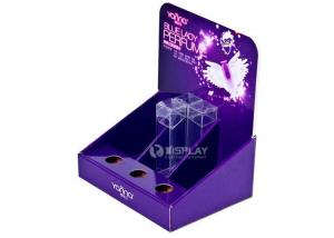 China Lightweight Corrugated Cardboard Counter Display For Perfume Promotion on sale