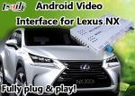 Interfaz video de Android 6,0 Lexus NX con la navegación GPS Mirrorlink BT WIFI