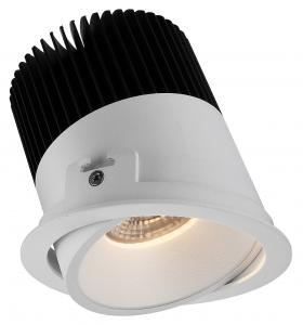 China Aluminum Die-cast IP20 Interior Dimmable Spot LED Downlights for Hotel , Warm White 2700-3000K on sale