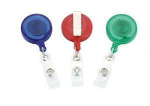 China Retractable ID Badge Reels plastic promotional badge reel,retractable badge reel badge holder yoyo 30220 on sale