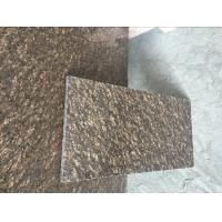 On Sale Counterop Tile Slab Cheap China Dyed Brown Granite Slabs&Tile