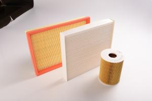 China Toyota Mitsubishi Automobile Air Filter , Automotive Cabin Filters Various Size on sale