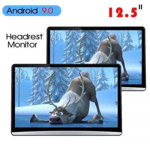 China 1920*1080 Car Headrest Monitor Hdmi Android 9.0 2 16g 12.5 Inch ABS Shell on sale