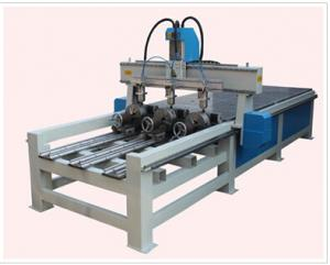 China Multifunction Cylinder Engraving Machine For Chopstick / Bamboo Crafts on sale
