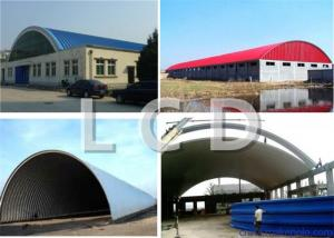China No - Girder Metal Sheet Roof Roll Forming Machine For Galvanized Steel Roof on sale