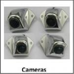 Pixéis eficazes sistema reverso largo da câmera do ângulo IP67 do auto 1280 x 960, sistema da opinião do pássaro de HD 2D