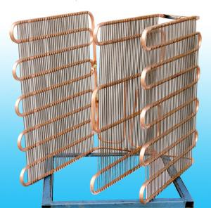 China Bundy Tube Refrigeration Evaporator / Used  Cooling System Evaporators on sale