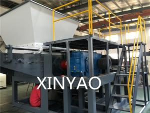 China CE 18.5kw 90RPM 250kg/H Top Feed  Recycling  Plastic Shredder Machine on sale