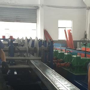 China Débourbage de câble de structure de toiture de plafond/chemin de câbles en aluminium faisant la machine on sale