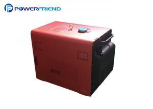 China Air Cooled Diesel Engine Generator Rated Power 5kw Silent Diesel Generator on sale