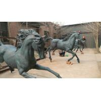 China New Bronze horse sculptures ,outdoor brass horse statues for sculptor and artist, China sculpture supplier on sale