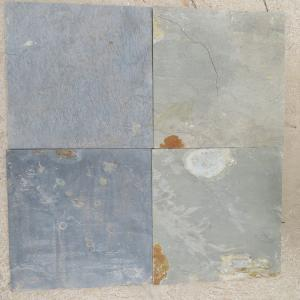 China Slate tiles Cheap outdoor natural rusty slate stone flooring tiles on sale