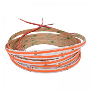 China Spot free flexible 528 led/m 8W ultra narrow 5 mm 90Ra high quality FOB COB LED strips wholesale