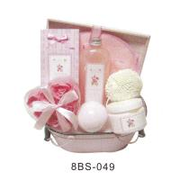 Pure Herbal Baby Bath Gift Sets Pvc Box With Flower Soap #8BS-049