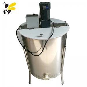 China Professional 2 3 4 6 8 12 24 Frame 304 Stainless Steel Manual Automatic Electric Honey Extractor on sale