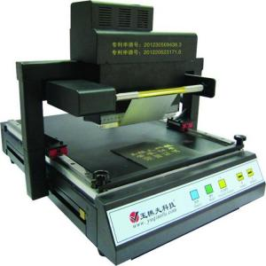 China Automatic hot foil stamping machine for book cover,visa cover and diploma cover on sale