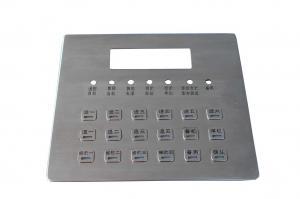 China CE  FCC  ROHS Vandal resistant  Metal Keypad / Backlight atm keypad on sale